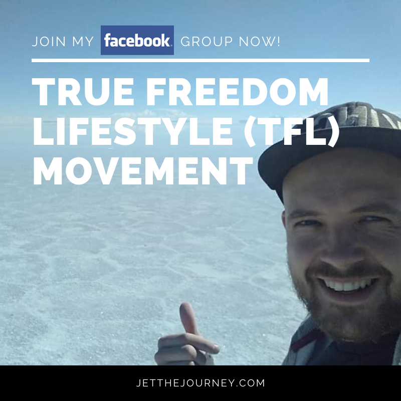JOIN THE TRUE FREEDOM LIFESTYLE (TFL) MOVEMENT